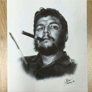 #PedroMedina #CheGuevara #Revolutionary #Drawing #Realism #Pen #Art