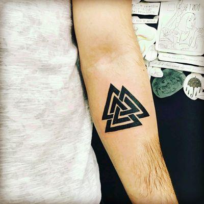 First tattoo! #viking #first #valhalla