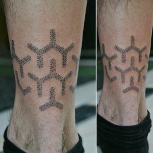 handpoked pattern