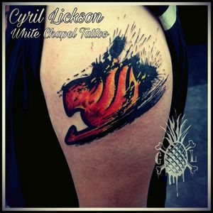 Fairy tail tatoo with cyril lickson in White chapel tatoo