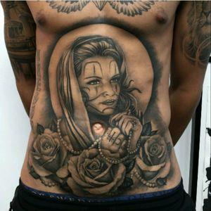 #AndyBlanco #Chicano #ChicanoStyle #Realism #BlackandGrey #Chola #Payasa #Thug