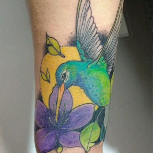 #hummingbirdtattoo #tattoocolor #ucerartdesing