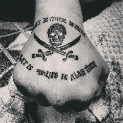 #pirate #PirateFlag #piratecode #piratetattoo #PirateTattoos