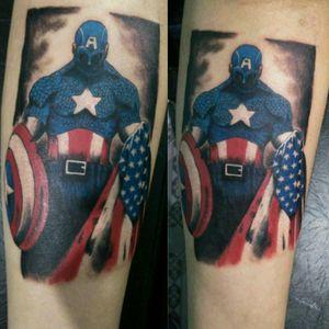 Captain America #captainamerica #tattoo