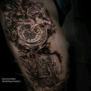 #inprogress #Narnia #robin #compass #ship #dragon #face #dryad #CSLewis #dawntreader #fantasy #story #book #literature #blackandgrey #realism