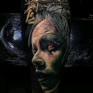 #horror #horrorart #horrortattoo #tattoodo #color #dark #DarkArt #realistic #detail #realistic #ink #art #tattoooart #artistic #tattoo #tattooed #inked #freak #freaky