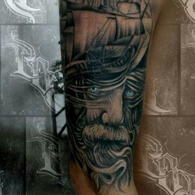 #pirate #galeon #polazcona #tattoobypol