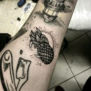 #pineapple #pineappletattoo #dotwork #dotworktattoo #tattoo #tattoos #blacktattoo #blackworker #blackworkertattoo #BlackworkArtist #blackworlerssubmission #krakentattoo #bythebloodyhand