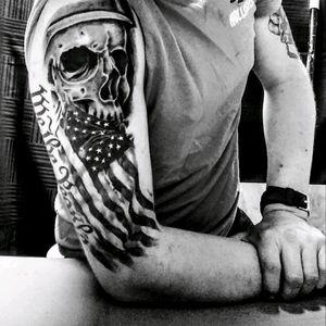 #military #skull #wethepeople #americanflag