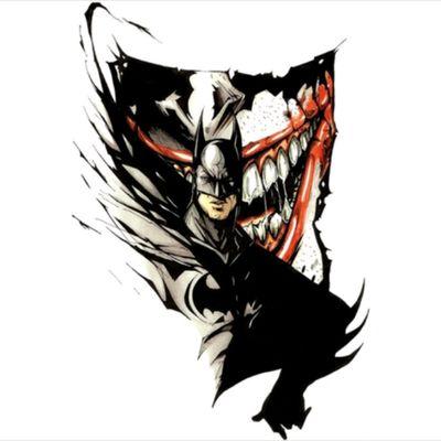 The tattoo that I want next #batman #thejoker #batmanjoker #joker #tattoo #jokertattoo #batmantattoo