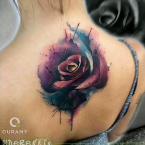 Sde Renato #tattoodo #TattoodoApp #tattoodoBR #tatuagem #tattoo #flor #flower #aquarela #watercolor #colorida #colorful #SdeRenato