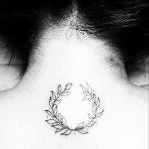 Corona de Laurel línea