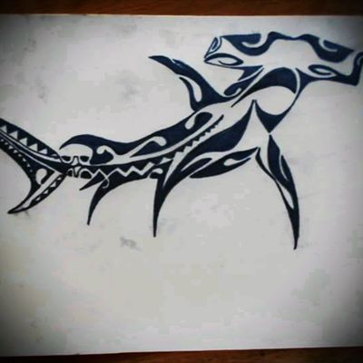 #shark #polinesian #tribal