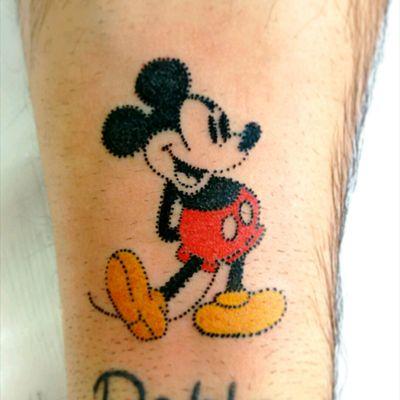 #tattoo #mickey #colortattoo #josemianutti #ink #inked #tattoolife