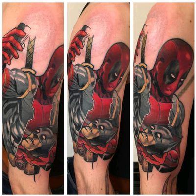 #deadpool #tattoo #redbaronink