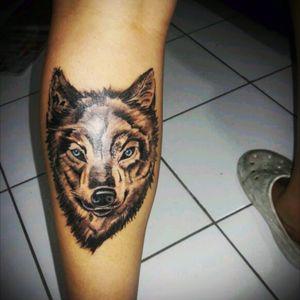 Wolf #tattoobr #iuasatoo #wolf