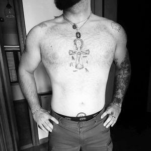 #tattoo #ankh #egyptiantattoo