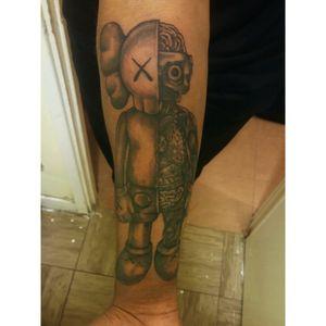 XX #Kaws #Dissected #Tattoos #Artwork #Inkwork #Tattoodo