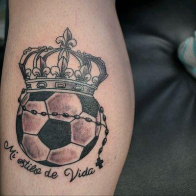 Mi estilo de vida #Futbol #Soccer #LifeStyle #690TATTOO