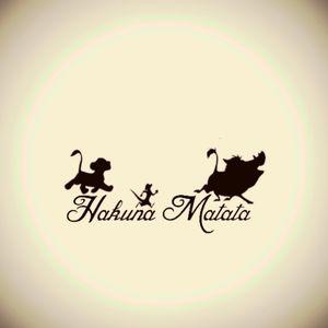 Hakuna Matata tattooo #LionKing #Hakunamatata #Timon #Pumba #Simba #cute #simple #black #blackwork #animals