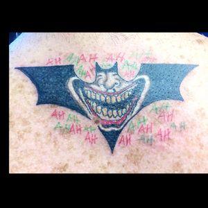 #batmantattoo #batmanjoker #jokertattoo
