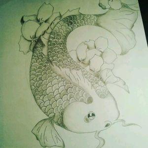 Koy fish drawing #koy #koyfish #japenese #japenesetattoo #koytattoo #koyfishtattoo #drawing #drawings #art #sketch #pencil #pencildrawing #pencildraw #blackandwhite