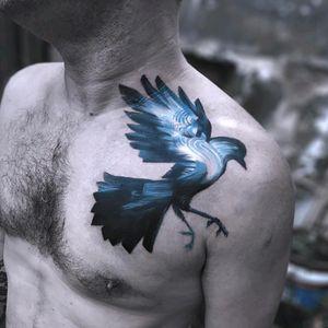 So beautiful By #SerkanDemirboga #bird #abstract #doubleexposure