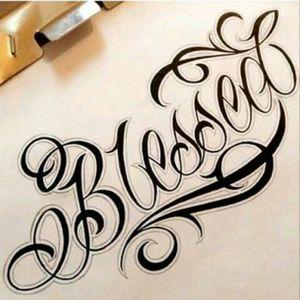 #blessedTattoo #Intenzetattooink #tattooed