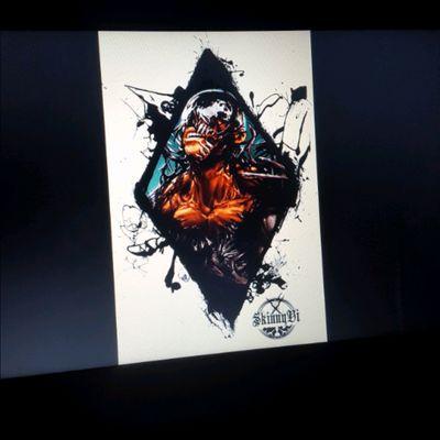Venom .... Available design... If anyone intresting let me know... #tattoo #tattoo_desighn #skinnyvi #skinnyvi_art #venom #tattooist