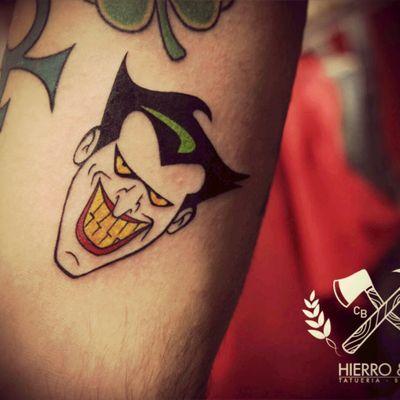 #Joker #traditionaltattoo #comic #TheJoker #TheJokerTattoo #OldSchool