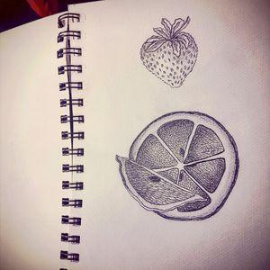 #fruits #minimalist #minimaltattoo