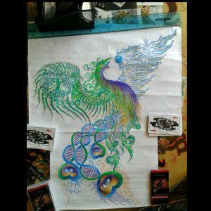 Available pheonix custom tattoo design #tattoodesigns #pheonixtattoo #naturetattoo #sciencetattoo #eyetattoo #colortattoo