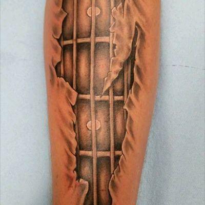 #heavybiggs #inksanitytattoo #blackandgrey #lakeelsinoreca #guitar
