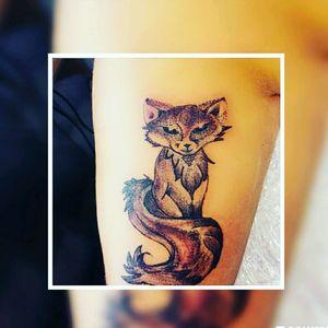 #dotwork #fuchs #frau #inkgirl #inked #tattooedwoman #tattooedgirl #tattooed #tattoist #inkgirl #inked #tattooedwoman#love #aussen #tattoo #tattoos #tattooedmann#followme #follower