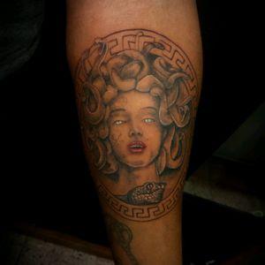#medusa #vinnyvampatattooartist #tagforlike #crownroyaltattoostudio #tattooing #tattoooftheday#tattoo