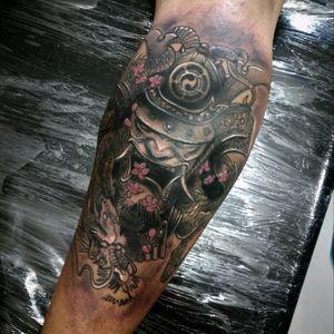 #blackandgray #realism #tattoo #samuraitattoo