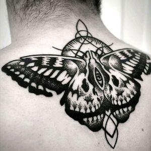 Metamorphosis Macabre #butterfly #skull #geometric #insect #eye #surrealism