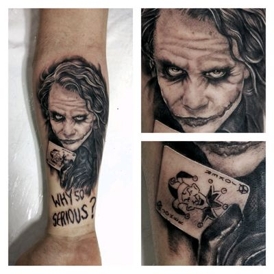 Coringa do Batman Cavaleiro das trevas / Joker from the dark Knight. #blackngrey #joker #batman