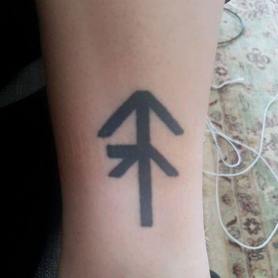 A combination rune of my name. #combinationrune #rune #name