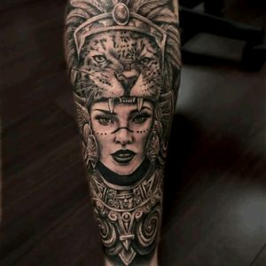 #FernandoGonzalez @fer703 #Realism #Portrait #BlackandGrey #Aztec #AztecWoman #Mexican  #LadyHead