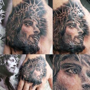 #hand #jesus #religious #blackandgrey