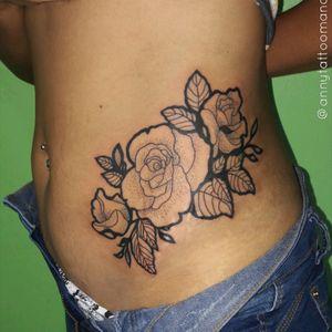 Roses 🌷 #annytattoomanaus #tatuadorademanaus #TatuadorasDoBrasil #tatuadorasbrasileiras #rosestattoo