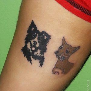 Pets Tattoo 🐶 #annytattoomanaus #tatuadorademanaus #TatuadorasDoBrasil #pets #pet #love