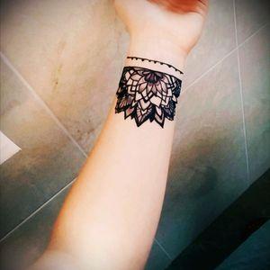#mandalatattoo #halfmandala #tattoo