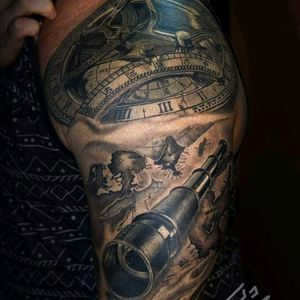 @tattoo_todo  -  Got a healed shot of the Nautical sleeve I'm working on, I just added a ship the other day so hopefully one more session and I'll have a video of the completed project.Thanks Damon for heading down From Bristol Tennessee. #heliosneedles #paradoxrotary #inkdlife #inkdlifemcdonoughgeorgia #inkd #inkdmag #inkdlifemagazine #skinart_healed