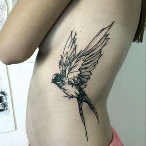 #tattoo #ink #linework #dots #dotwork #byAnis #AnastasiaTrigoutiAnis #inklovers #inked #blackwork #birdtattoo
