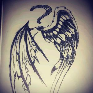 Angel or devil. Good or bad if not both. That's the mystery and how I see myself a combination of the two.
