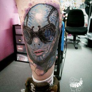 Finished Abe Sapien from Hellboy. By Ela #tattoobanana #tattoo #tattoos #tatts #bodyart #inked #thurles #ink #tattoolovers #tatuaze #worldfamousink #sabretattoosupplies #irelandtattoostudio #tattooprime #easytattoo_uk #hellboytattoo #AbeSapien #colortattoo #colorrealismtattoo