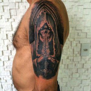 #reaper #exu #skull #black #graywash #blackandgrey