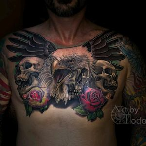 Skulls and Eagle head morph